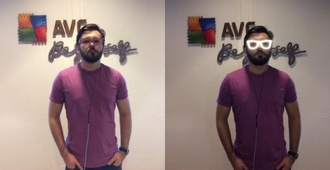 Gafas de invisibilidad AVG