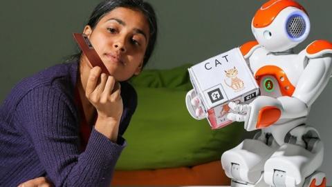 robot problemas aprendizaje