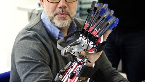 SCRIPT, el brazo robótico que ayuda en la rehabilitación tras sufrir un infarto o un ictus.