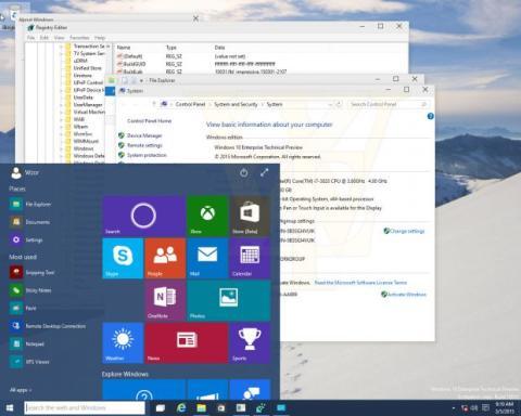 windows 10 filtraciones