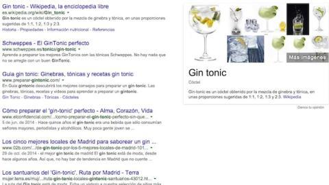 Gin Tonic España Google