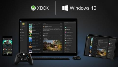 Xbox Live será gratis en PC y móviles con Windows 10.