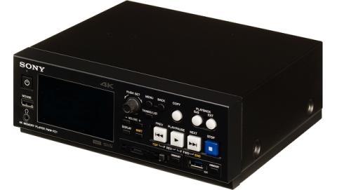 Sony PMW-PZ1, el reproductor 4K más compatible.