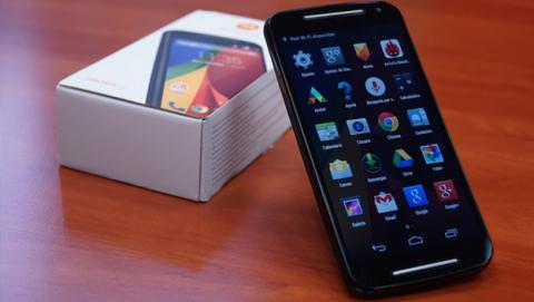 El nuevo Moto G 2014 de Motorola por fin tiene versión 4G