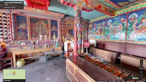 Google Street View llega a la comunidad Sherpa del Everest
