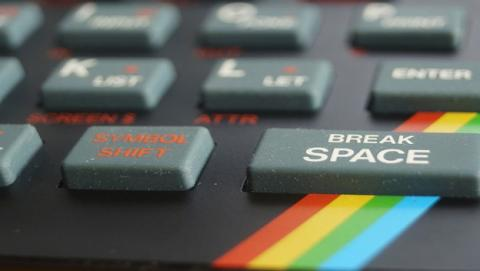 teclado réplica spectrum