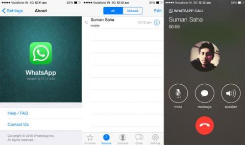 llamadas whatsapp iphone