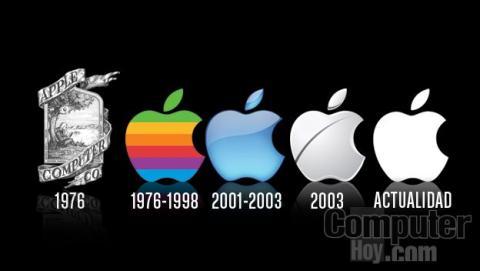 Evolución del logo de Apple