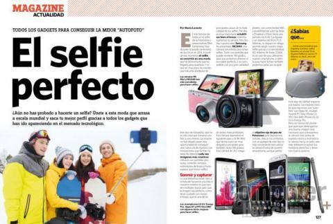 Gadgets para selfies