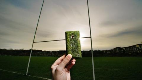 O2 Recycle móvil ecológico carcasa césped