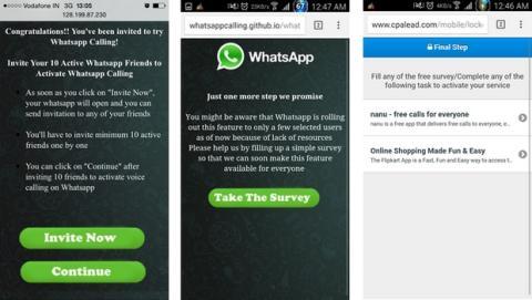 Estafas llamadas WhatsApp