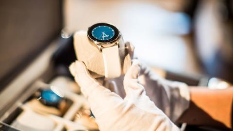 vector smartwatch batería 30 días