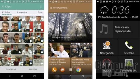 Apps y software htc one m9