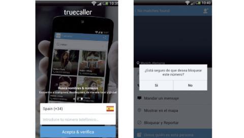 LLamadas Android Spam