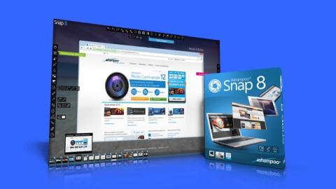 Ashampoo Snap 8, captura, edita y comparte tus pantallas