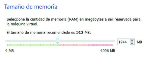 memoria máquina virtual