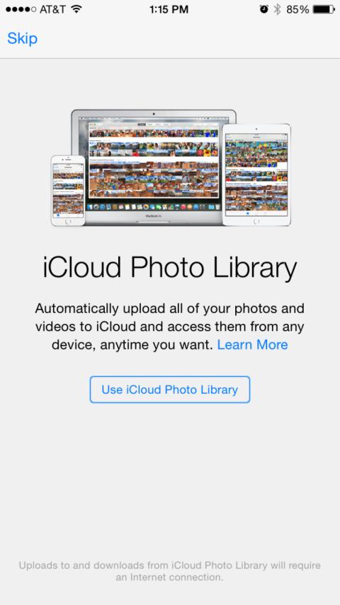 Photo Library en nueva beta de iOS