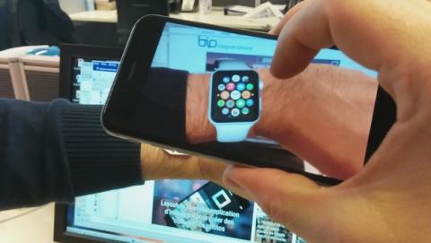Pruébate un Apple Watch ahora mismo con la realidad aumentada.