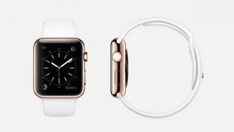 Apple Watch de oro 18 quilates