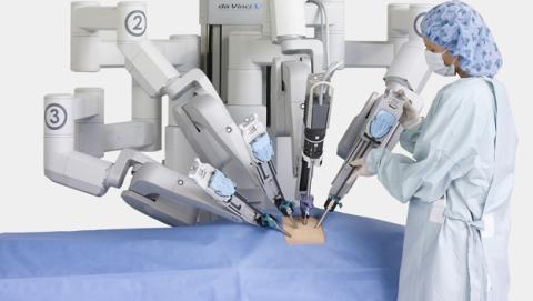 robot cirujano google