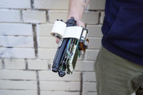 Pistola Game Boy Camera