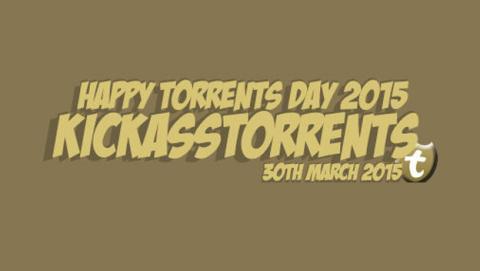 Kickass Torrent os desea un feliz cuarto Día del Torrent