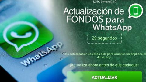 Cuidado con la estafa de WhatsApp del mensaje de actualización