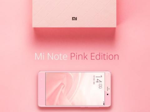 Mi Note Pink Edition