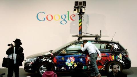 Google Street View coche
