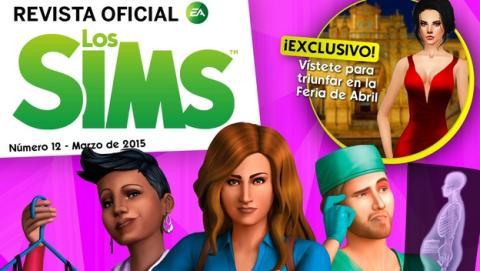 Revista Oficial de los Sims Número 12. Descárgala gratis para iOS y Android. Con toda la información de la primera expansión Los Sims 4 ¡A Trabajar!