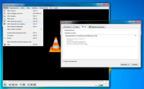 TV online en VLC Media Player