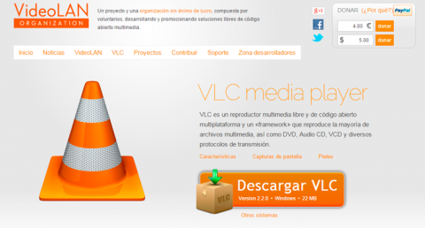 Instala VLC Media Player