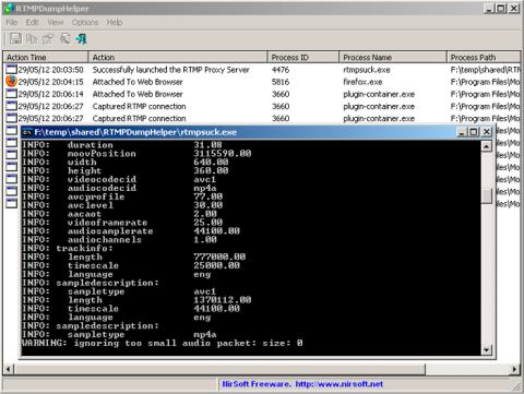 Enlaces RTMP de los canales para VLC