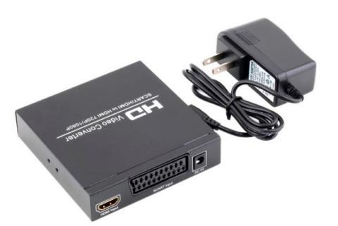 Con un adaptador podrás añadir una conexión HDMI a tu TV