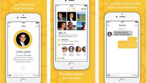 Bumble, la app para ligar