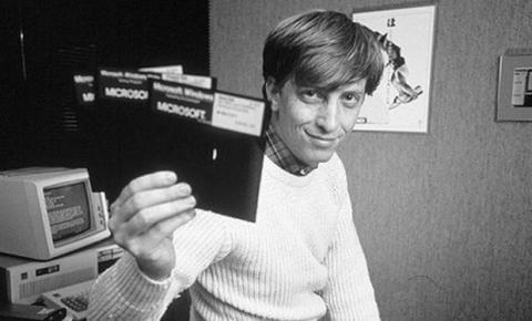 Microsoft cumple 40 años
