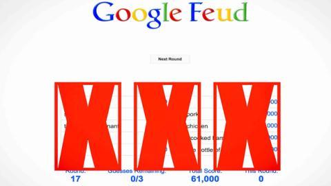 Un juego de Google descubre lo que más se busca en Internet