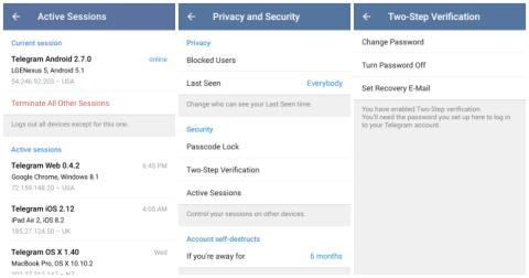 actualización Telegram