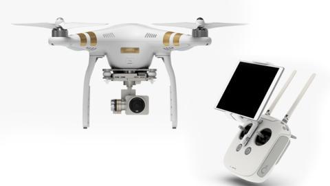 dji phantom 3 dron profesional