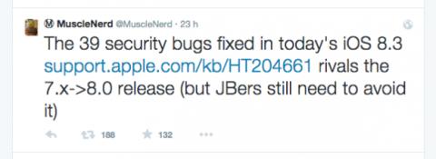 Un hacker de iPhone dice que el jailbreak tardará