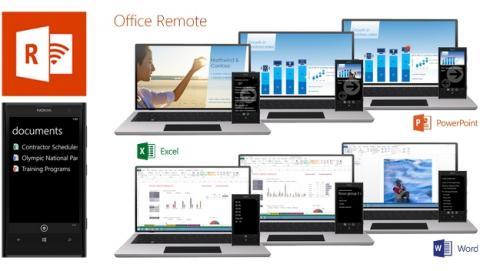 Office Remote, controla Microsoft Office de PC con tu smartphone Android.