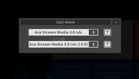 Descarga Ace Stream en tu equipo