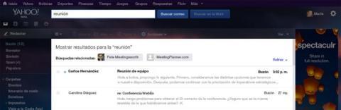 Hábitos de uso del email Yahoo!