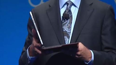 Intel presenta el primer ordenador portátil sin cables