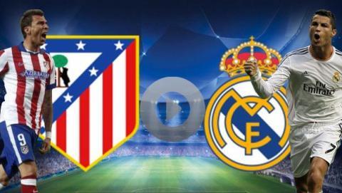 Ver online y en directo Atlético Madrid vs Real Madrid de Champions
