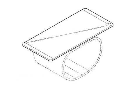 Así luce el dispositivo de LG, mitad smartphone y mitad smartwatch