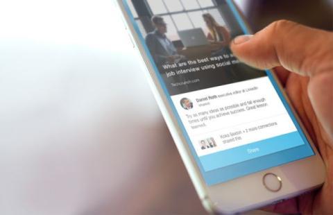 LinkedIn Elevate, app para que los empleados compartan contenido de su empresa en las redes sociales