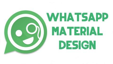 WhatsApp recibe actualización a material design