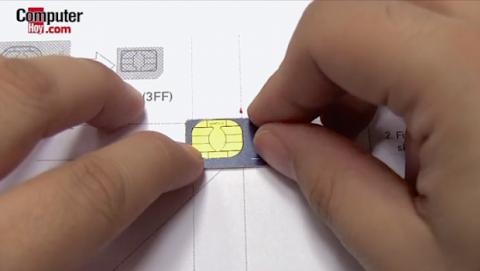 cortar tarjeta SIM