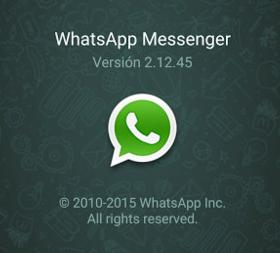 whatsapp 2.12.45